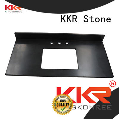 KKR Stone pattern solid surface bathroom countertops long-term-use for worktops