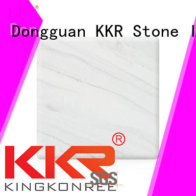 KKR Stone easy to clean solid surface sheet color for entertainment