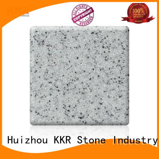 KKR Stone color modified solid surface superior stain for bar table